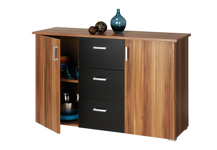 kommode sideboard swift anrichte schrank mit t ren. Black Bedroom Furniture Sets. Home Design Ideas