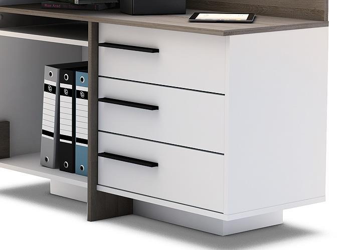 eckschreibtisch thales schreibtisch b rotisch. Black Bedroom Furniture Sets. Home Design Ideas