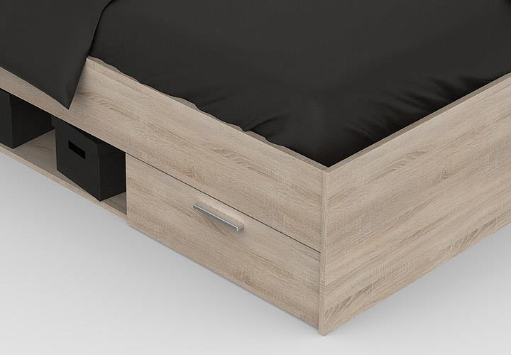 bett michigan jugendbett g stebett mit 2 schubk sten. Black Bedroom Furniture Sets. Home Design Ideas