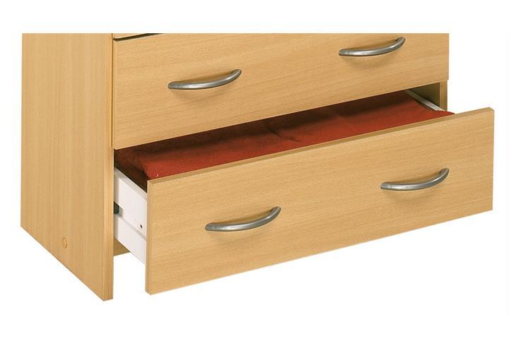 kommode isis schrank anrichte sideboard schubkasten in buche natur eur 29 95 picclick de. Black Bedroom Furniture Sets. Home Design Ideas