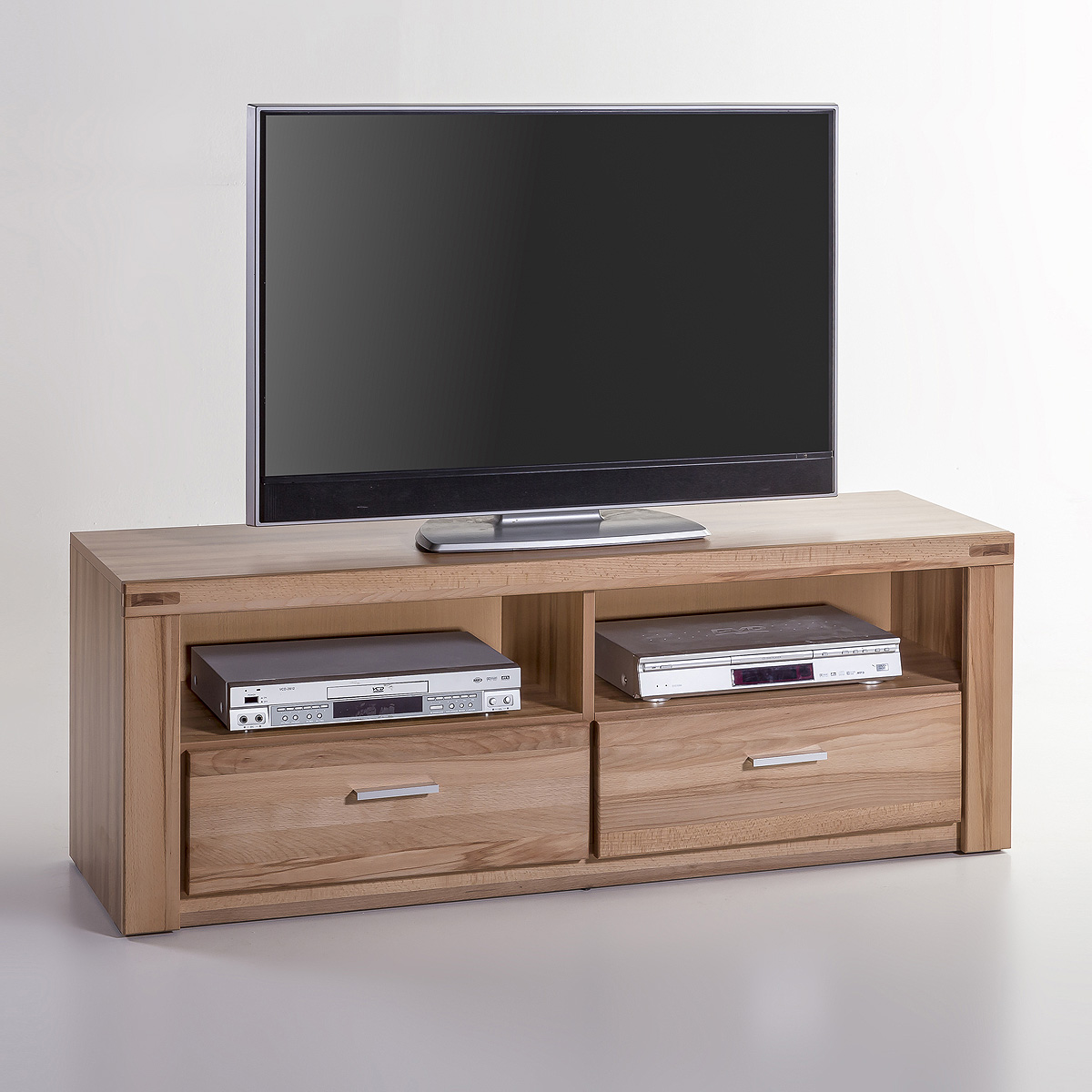 tv kommode tabea tv board lowboard in kernbuche oder wildeiche teil massiv ebay. Black Bedroom Furniture Sets. Home Design Ideas