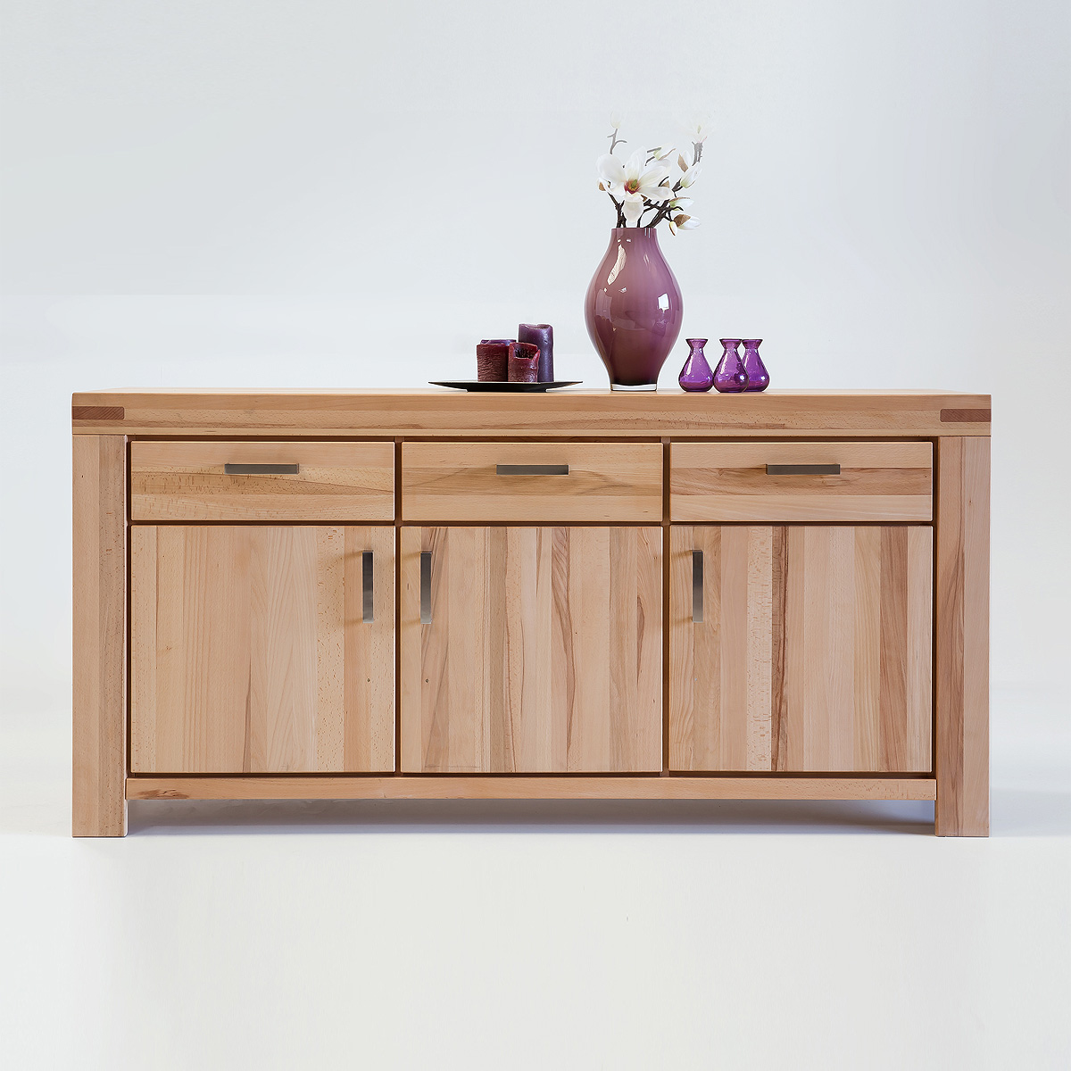 sideboard kira kommode anrichte auswahl kernbuche wildeiche massiv ge lt bianco ebay. Black Bedroom Furniture Sets. Home Design Ideas