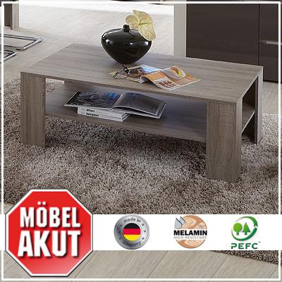 couchtisch diva tisch beistelltisch in sonoma eiche. Black Bedroom Furniture Sets. Home Design Ideas
