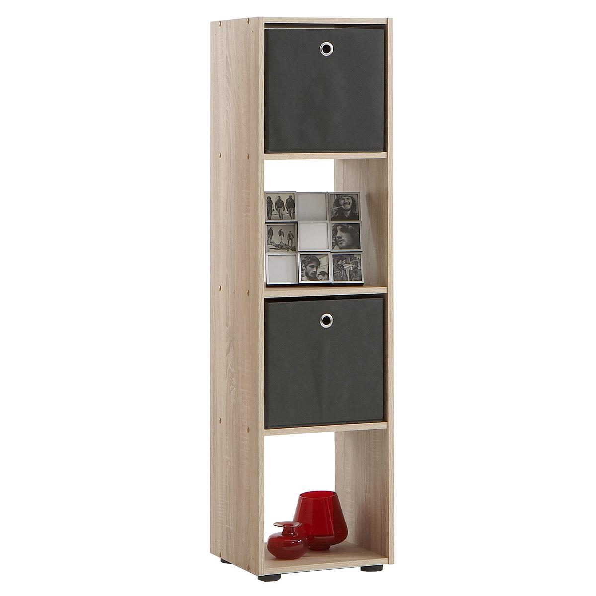 raumteiler mega 4 b cherregal regal in sonoma eiche s gerau neu ebay. Black Bedroom Furniture Sets. Home Design Ideas