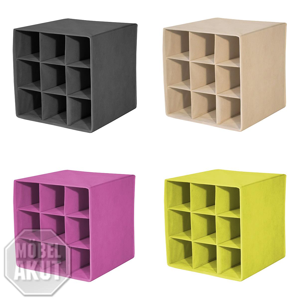 faltbox alfa 4 korb regal flaschenablage mit farbauswahl ebay. Black Bedroom Furniture Sets. Home Design Ideas