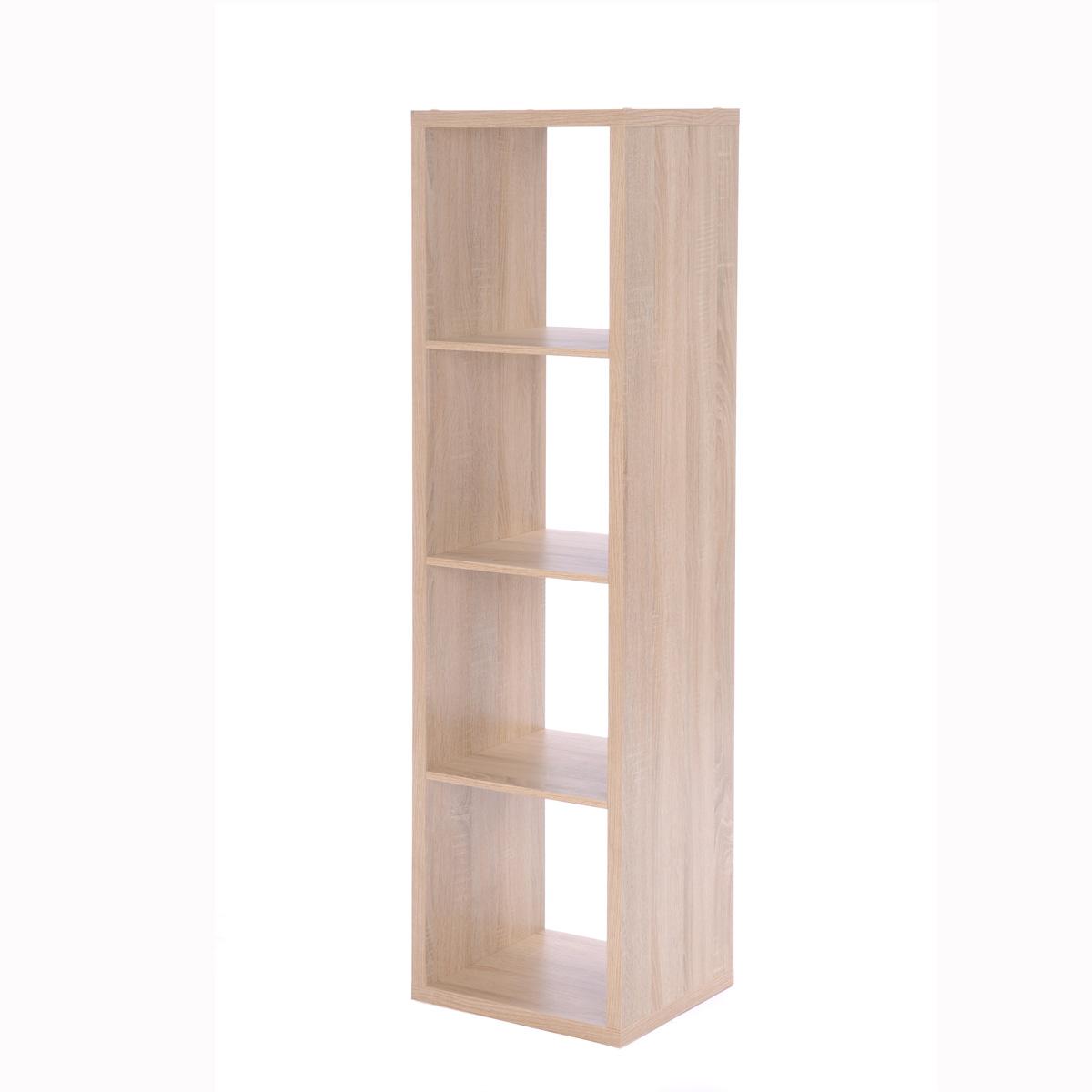regal max b cherregal raumteiler s ule w rfel eiche wei oder beton mit faltbox ebay. Black Bedroom Furniture Sets. Home Design Ideas