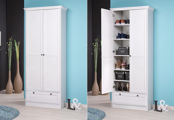 mehrzweckschrank landwood landhausstil schuhschrank. Black Bedroom Furniture Sets. Home Design Ideas