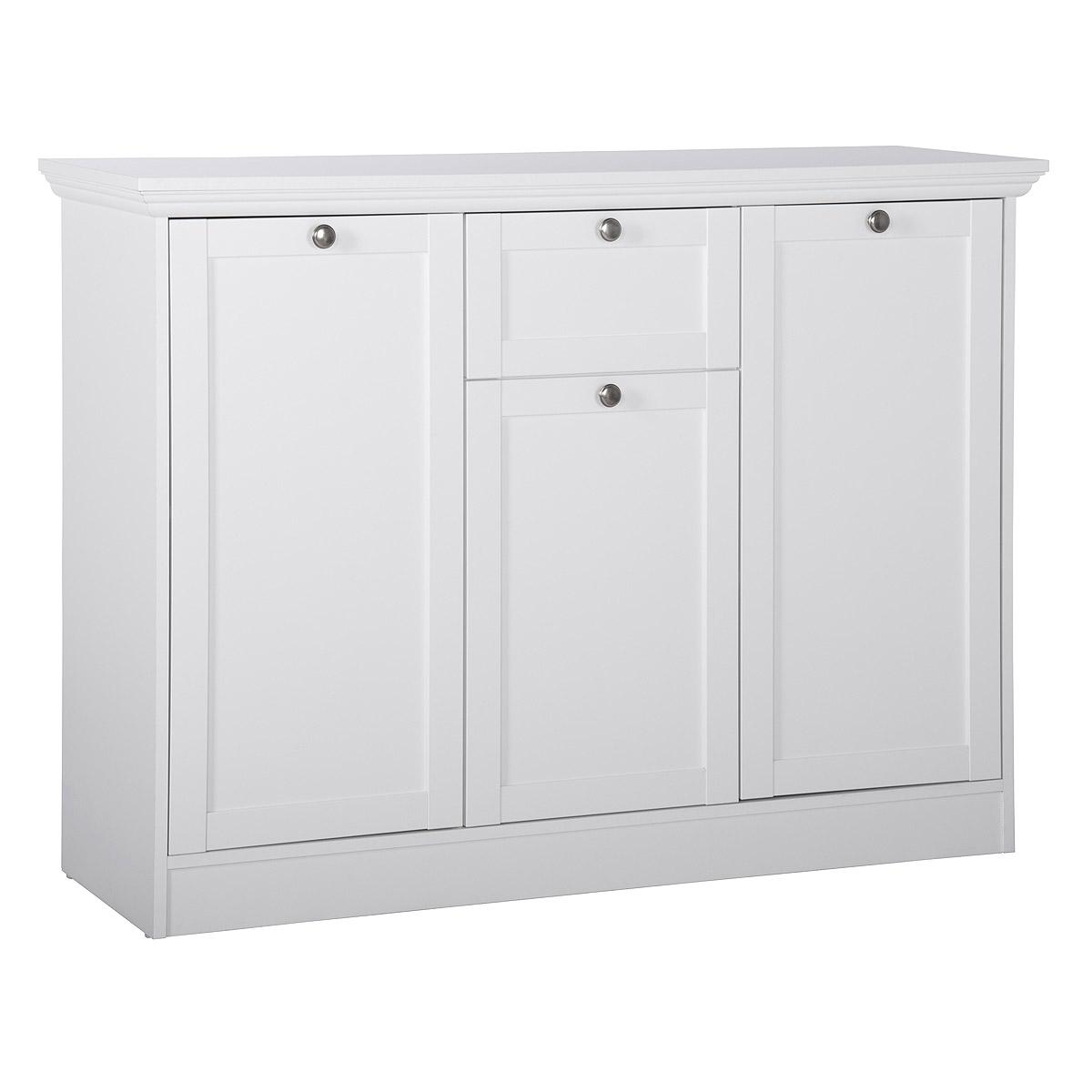 kommode landwood 15 anrichte sideboard wei dekor ebay. Black Bedroom Furniture Sets. Home Design Ideas