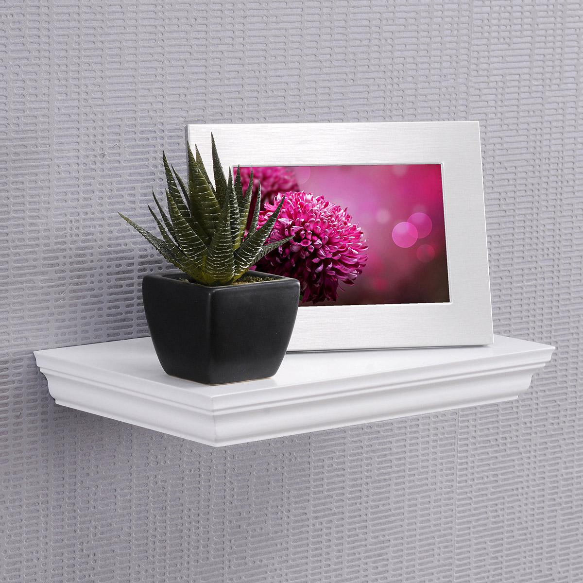 wandboard landwood 30 landhausstil regal wei 30cm breit ebay. Black Bedroom Furniture Sets. Home Design Ideas