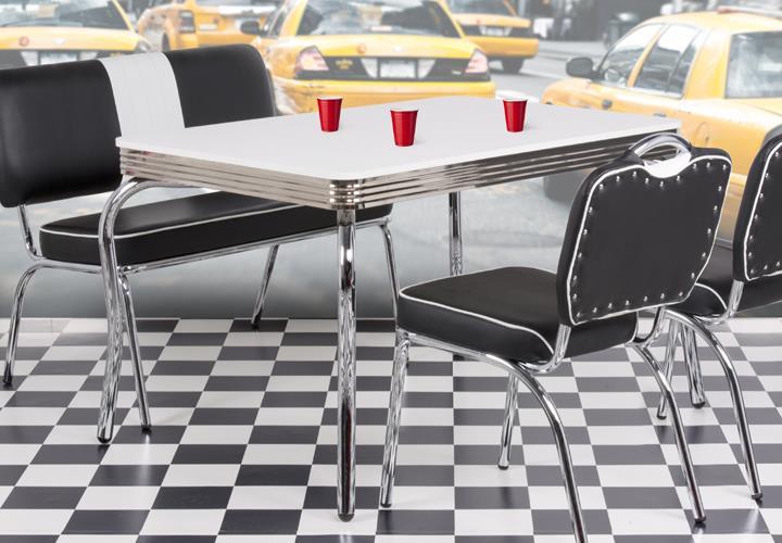 American Diner Tisch war tolle stil für ihr haus design ideen