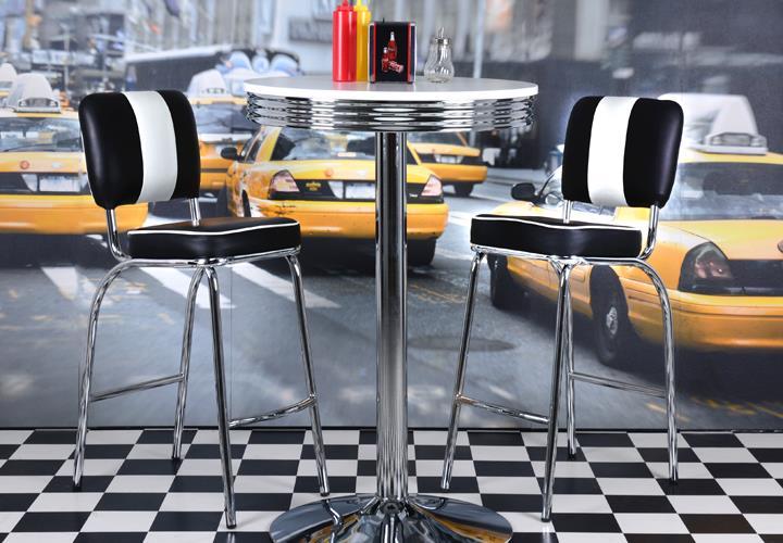 barhocker elvis american diner 50er jahre retro. Black Bedroom Furniture Sets. Home Design Ideas