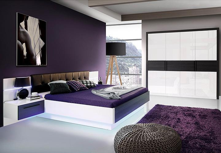 schlafzimmer schranke mit fernseher raum und m beldesign inspiration. Black Bedroom Furniture Sets. Home Design Ideas