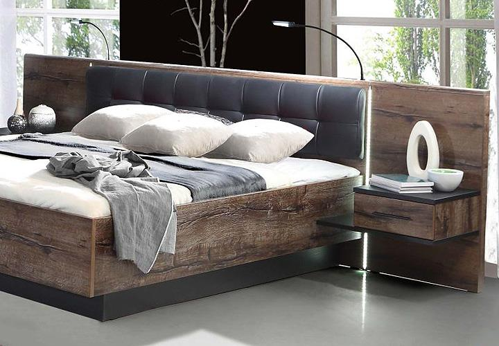 schlafzimmer bellevue mit schwebet renschrank schwarzeiche und schlammeiche ebay. Black Bedroom Furniture Sets. Home Design Ideas