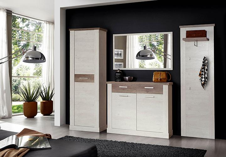 schuhschrank duro garderobe schuhkommode kommode pinie wei eiche antik eur 169 95 picclick de. Black Bedroom Furniture Sets. Home Design Ideas