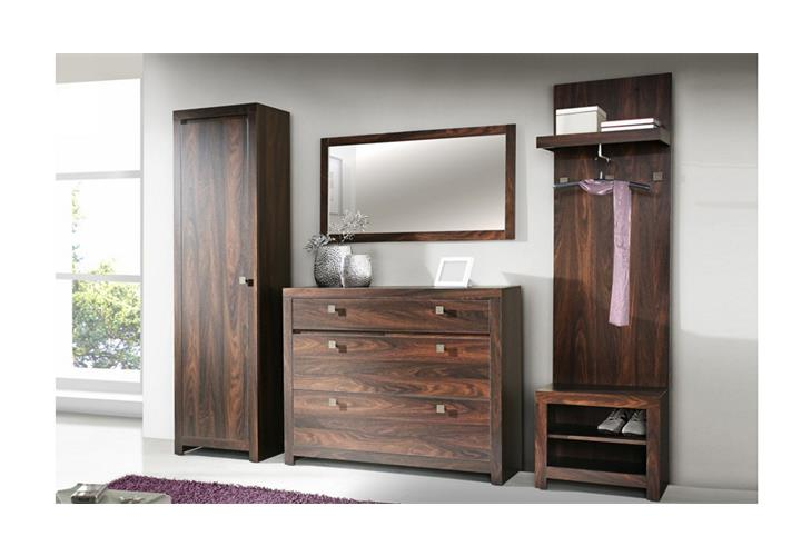 schuhschrank indigo garderobe schuhkipper eiche durance kolonialstil 121cm breit ebay. Black Bedroom Furniture Sets. Home Design Ideas