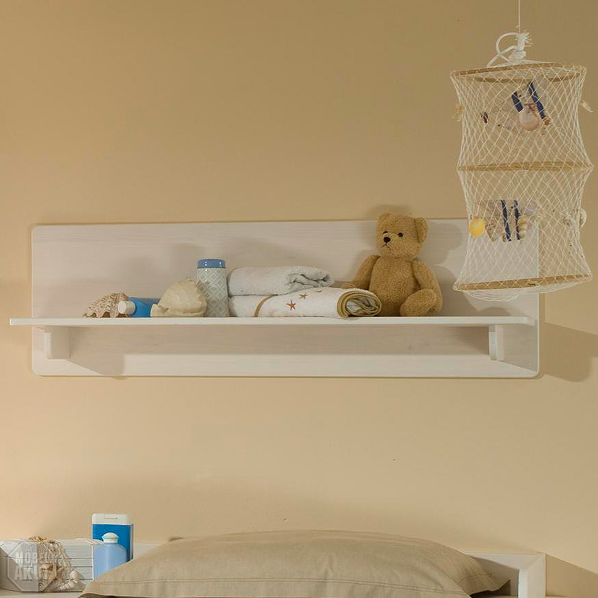 wandboard ronja regal in wei massiv babyzimmer ebay. Black Bedroom Furniture Sets. Home Design Ideas