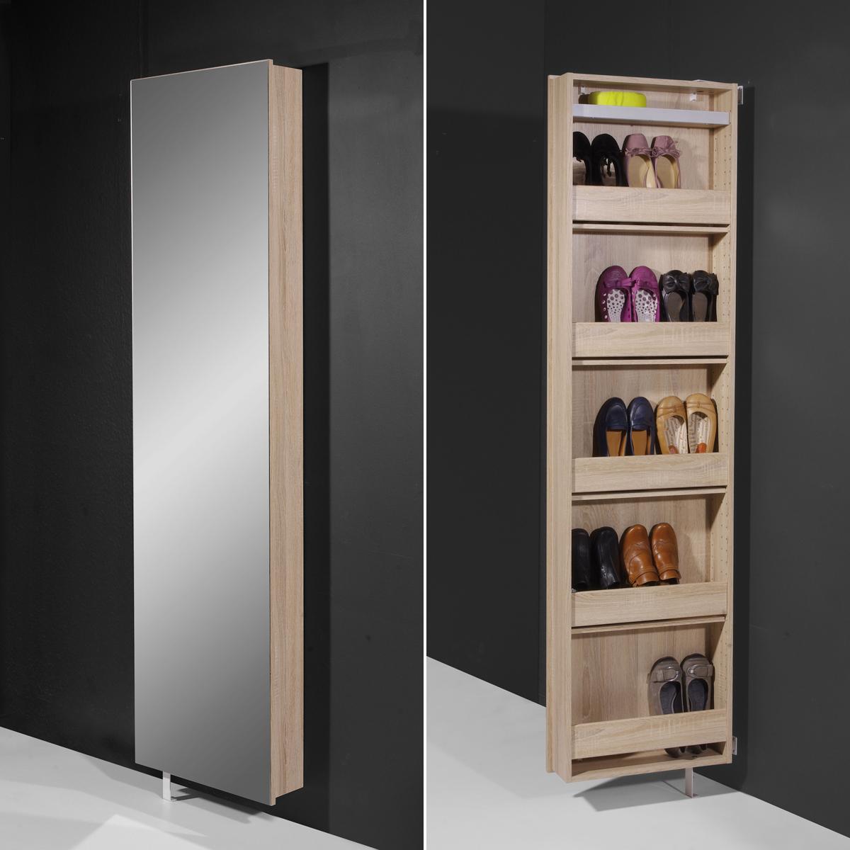 mehrzweckschrank 1189 germania drehschrank dielenschrank schuhschrank spiegel ebay. Black Bedroom Furniture Sets. Home Design Ideas