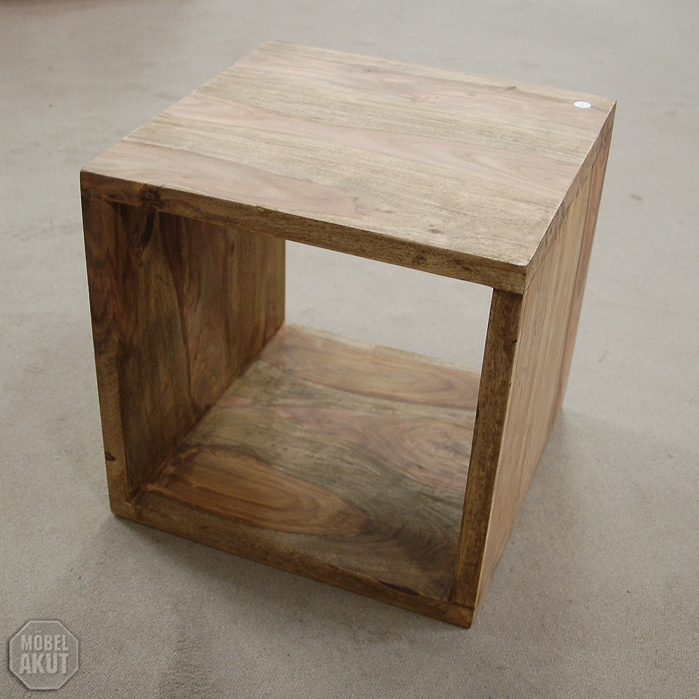 regal box buddha couchtisch sheesham massiv neu ebay. Black Bedroom Furniture Sets. Home Design Ideas