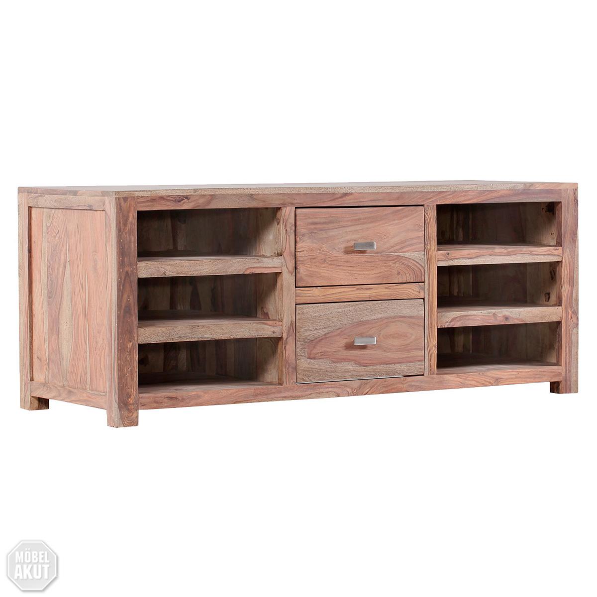 lowboard buddha tv board sheesham massiv neu ovp ebay. Black Bedroom Furniture Sets. Home Design Ideas