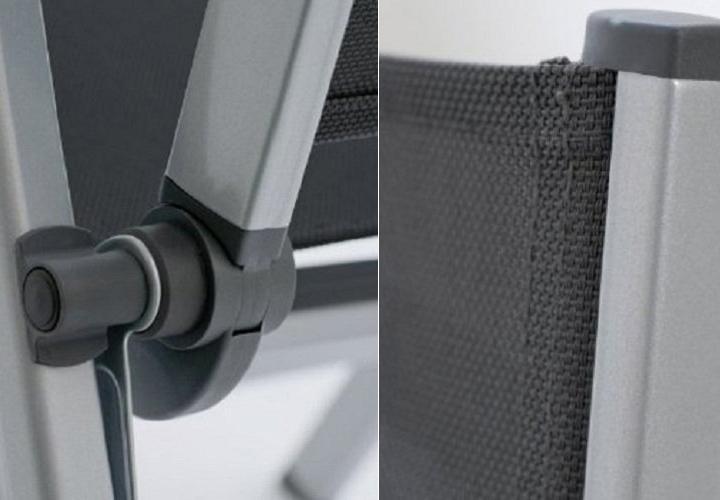 relaxsessel basic plus kettler gartenm bel in aluminium. Black Bedroom Furniture Sets. Home Design Ideas
