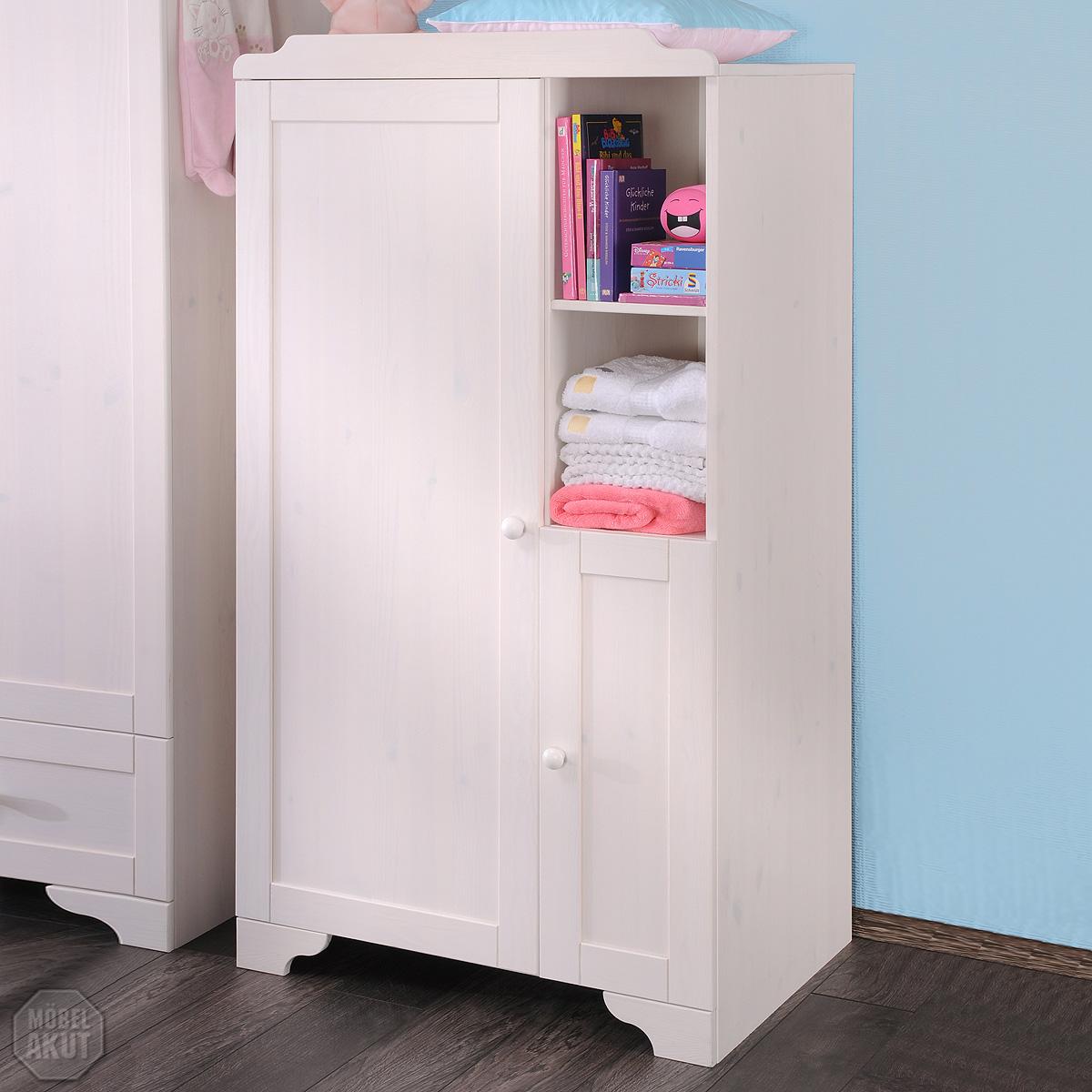kommode vita w scheschrank babyzimmer in kiefer massiv wei gewachst ebay. Black Bedroom Furniture Sets. Home Design Ideas