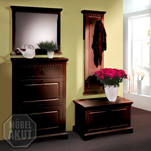 garderobe pisa flurm bel 4 teilig schuhschrank truhe in. Black Bedroom Furniture Sets. Home Design Ideas