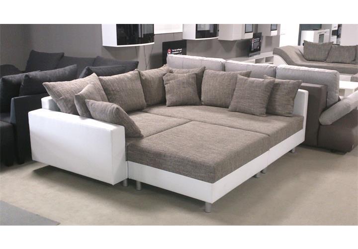 Sofas mit ottomane und relax das beste aus wohndesign for Xxl wohnlandschaft leder ottomane
