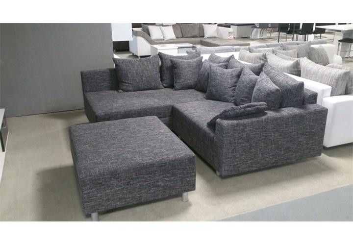 ecksofa claudia wohnlandschaft ottomane links sofa mit. Black Bedroom Furniture Sets. Home Design Ideas