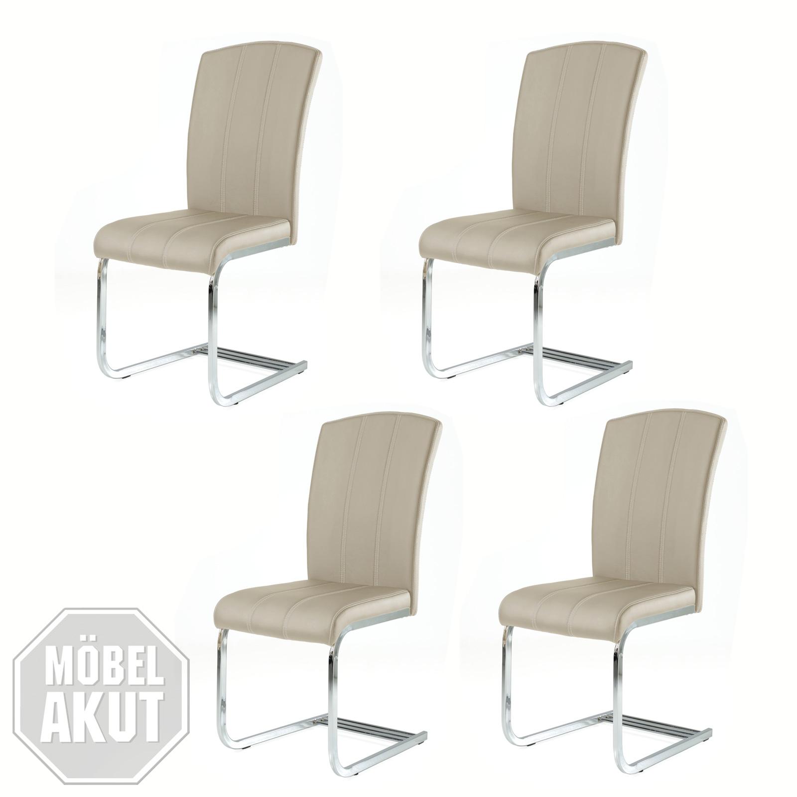 4er set schwingstuhl nancy stuhl schwinger freischwinger. Black Bedroom Furniture Sets. Home Design Ideas