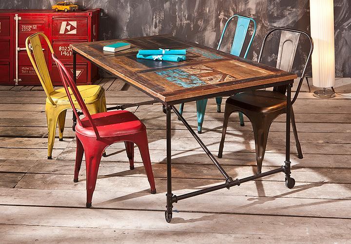 metallst hle neu streichen m belideen. Black Bedroom Furniture Sets. Home Design Ideas