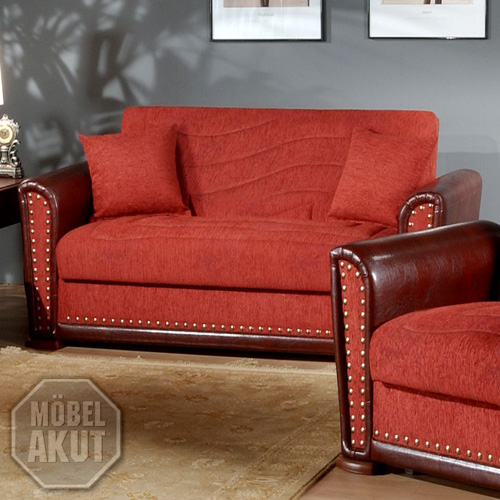 sofa gamma in bordeaux rot braun mit verzierungen neu ebay. Black Bedroom Furniture Sets. Home Design Ideas