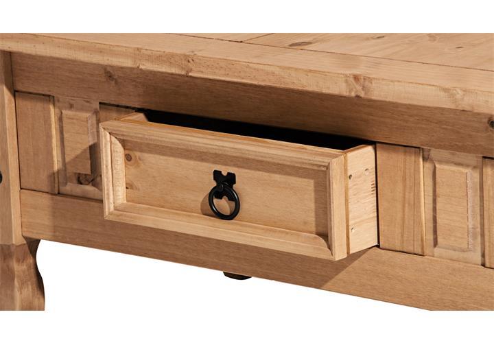 couchtisch corona wohnzimmertisch in pinie massiv honigfarben gewachst h 45 cm. Black Bedroom Furniture Sets. Home Design Ideas