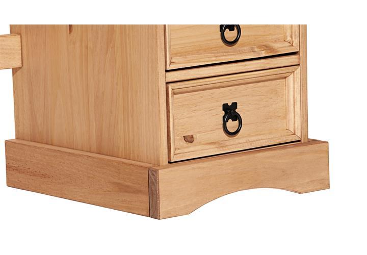 schreibtisch corona b ro tisch in pinie massiv und honigfarben gewachst ebay. Black Bedroom Furniture Sets. Home Design Ideas