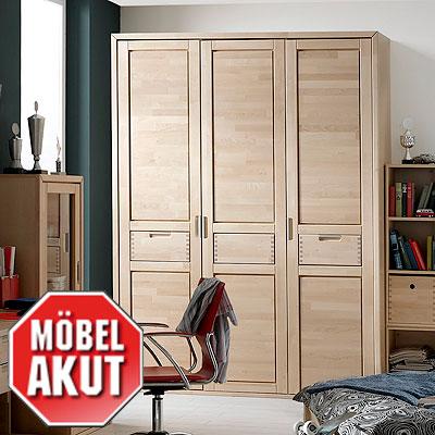 kleiderschrank primo schrank birke teilmassiv neu ebay. Black Bedroom Furniture Sets. Home Design Ideas