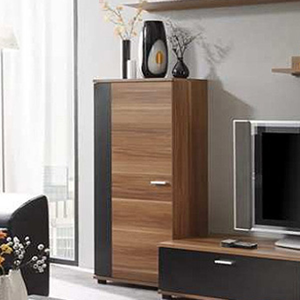 schrank top five kommode in schwarz nussbaum ebay. Black Bedroom Furniture Sets. Home Design Ideas