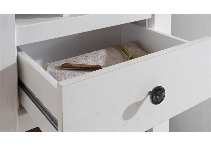 regal westerland standregal regalschrank landhausstil in. Black Bedroom Furniture Sets. Home Design Ideas