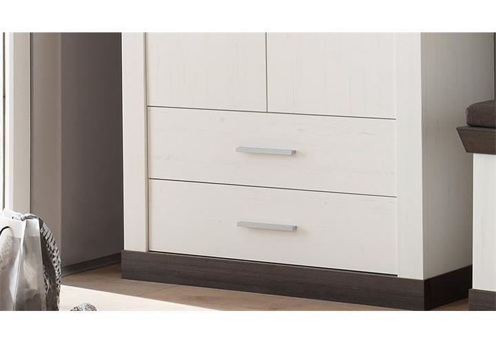 garderobenschrank tiena schrank kleiderschrank in pinie. Black Bedroom Furniture Sets. Home Design Ideas