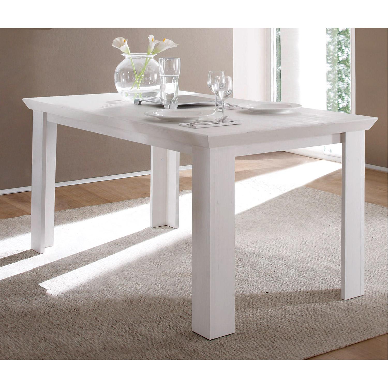 esstisch garden tisch speisezimmer in pinie wei 160x90 cm ebay. Black Bedroom Furniture Sets. Home Design Ideas
