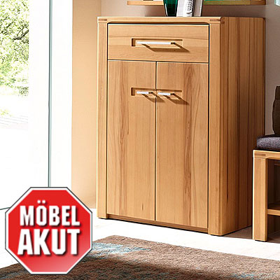 schuhschrank pure flurm bel schrank kernbuche massiv neu ebay. Black Bedroom Furniture Sets. Home Design Ideas