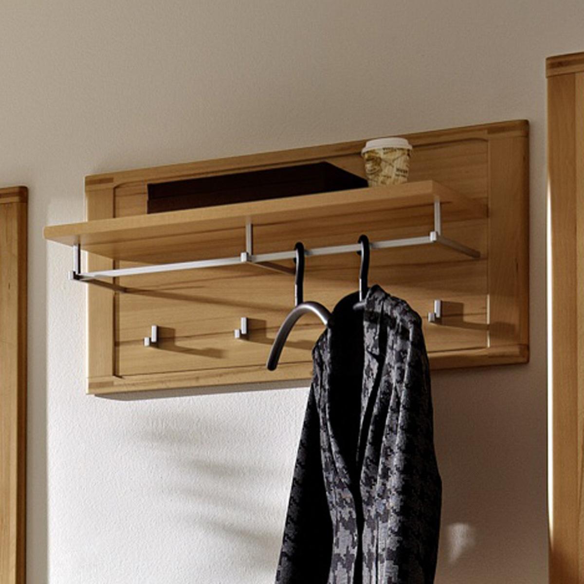 garderobenpaneel nature plus flurm bel garderobe kernbuche. Black Bedroom Furniture Sets. Home Design Ideas