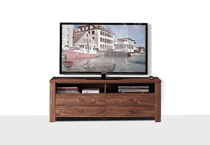 tv lowboard holz dunkel. Black Bedroom Furniture Sets. Home Design Ideas