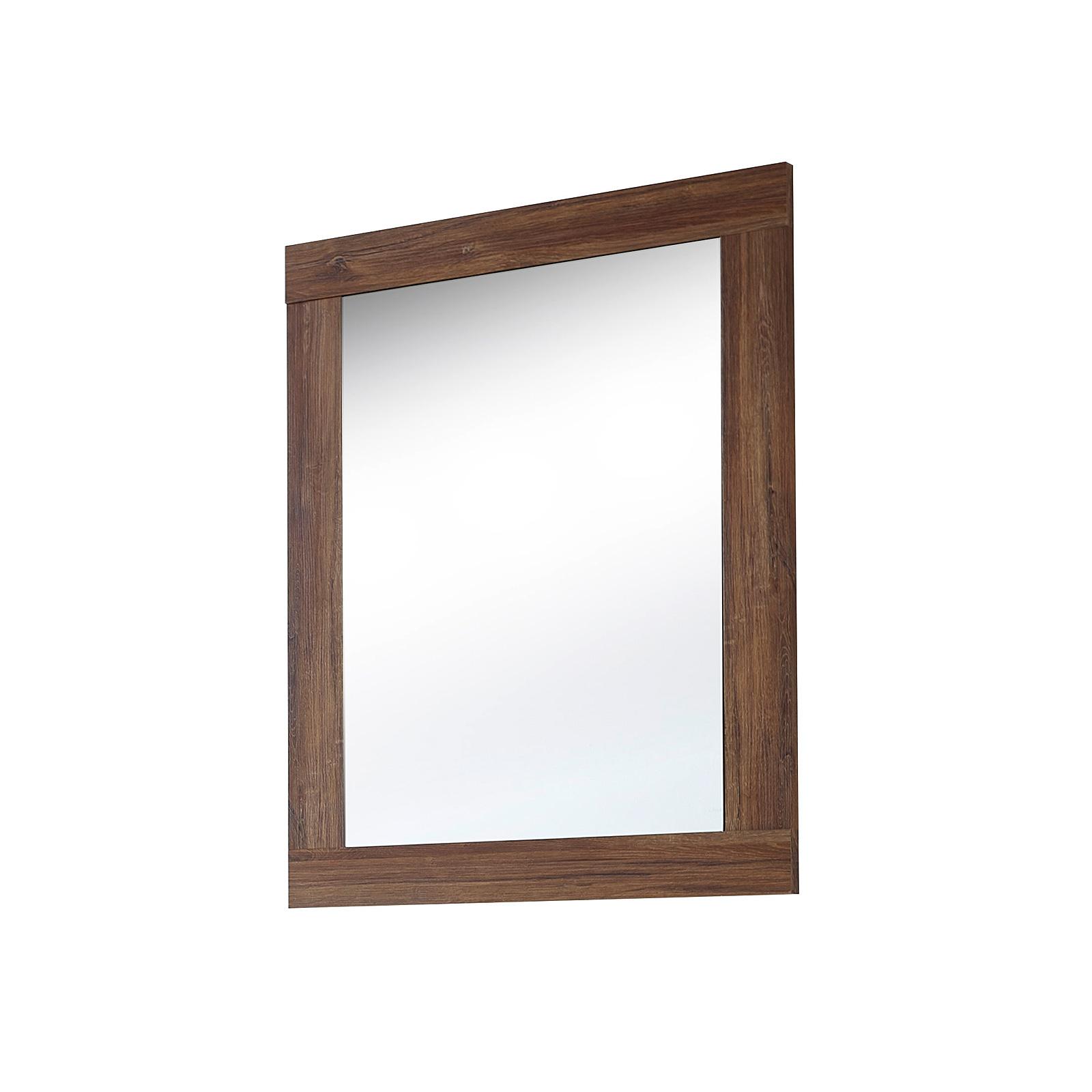 spiegel br ssel wandspiegel h ngespiegel dekospiegel akazie dunkel 65 ebay. Black Bedroom Furniture Sets. Home Design Ideas