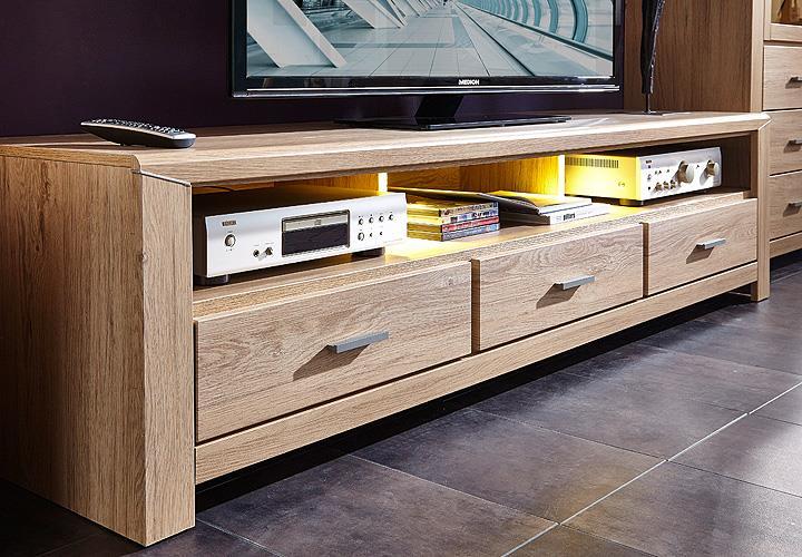 tv board l ttich 2 lowboard unterschrank fernsehschrank. Black Bedroom Furniture Sets. Home Design Ideas