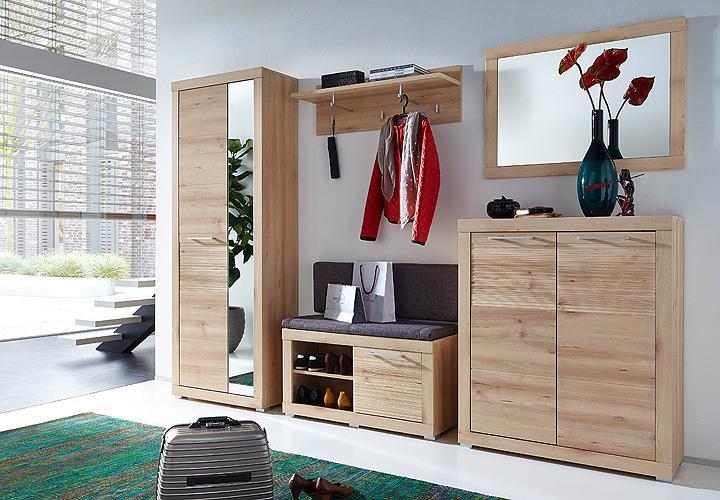 bank targa garderobenbank schuhbank flurbank buche in hell inkl sitzkissen grau ebay. Black Bedroom Furniture Sets. Home Design Ideas