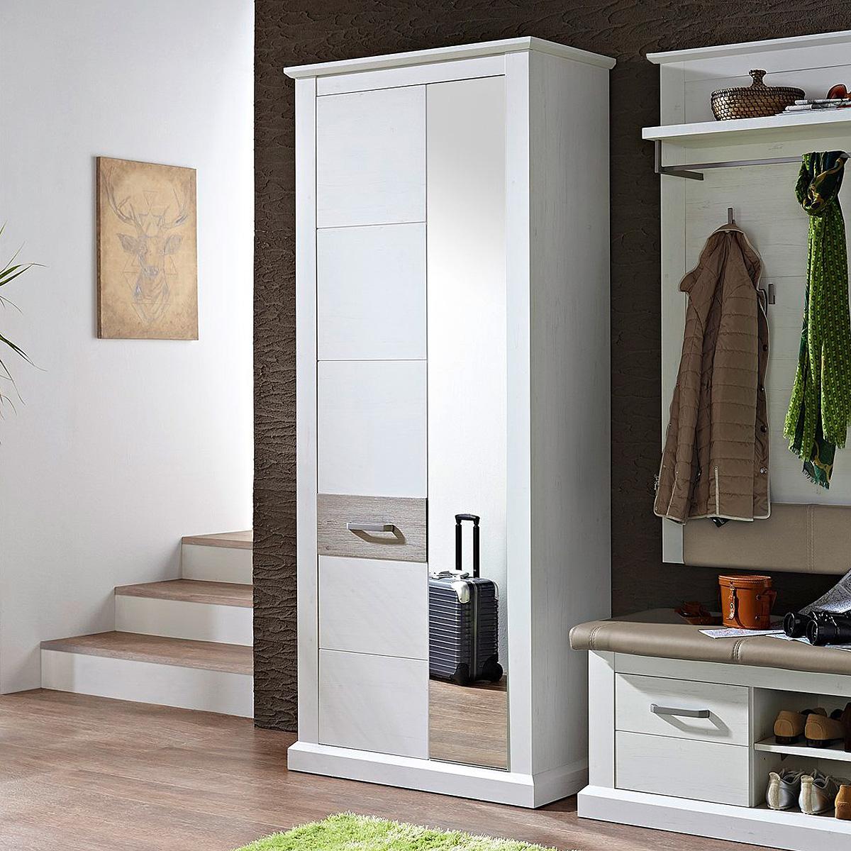 garderobenschrank 1 modena garderobe schrank flurm bel in. Black Bedroom Furniture Sets. Home Design Ideas