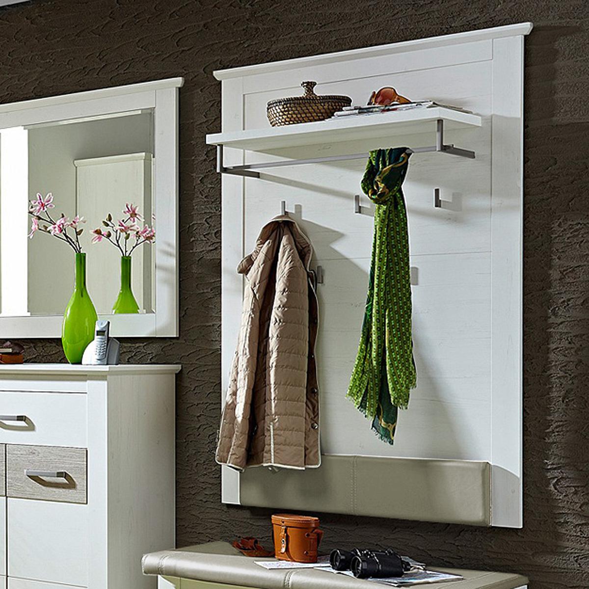 Garderobenpaneel 1 modena paneel garderobe flurm bel in for Paneel garderobe