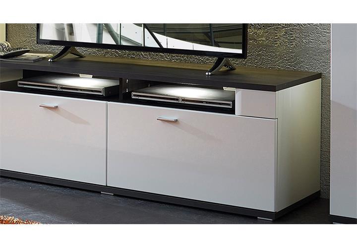 lowboard wei anthrazit inspirierendes. Black Bedroom Furniture Sets. Home Design Ideas