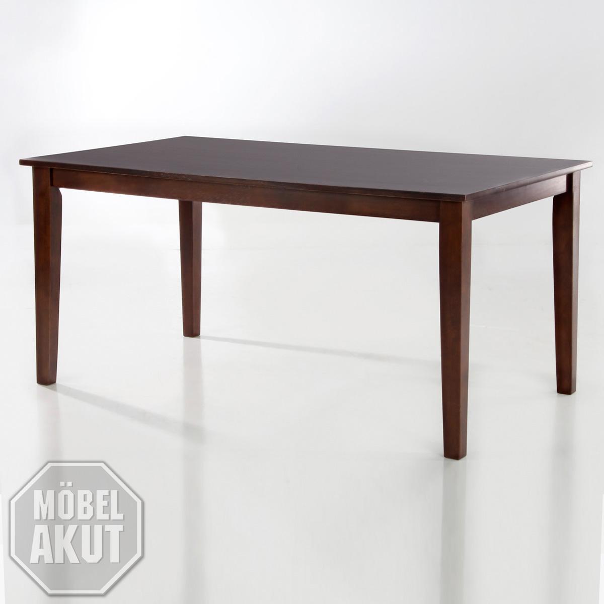esstisch delano tisch in wenge kolonial massiv 160 x 90 ebay. Black Bedroom Furniture Sets. Home Design Ideas