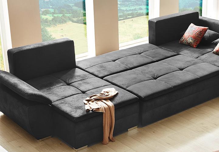 wohnlandschaft dauerschl fer bestseller shop f r m bel und einrichtungen. Black Bedroom Furniture Sets. Home Design Ideas