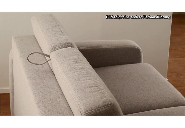 faltsofa samuel grau meliert schlafsofa 196 cm sofa funktionssofa eur picclick de. Black Bedroom Furniture Sets. Home Design Ideas